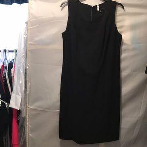 Basic black Sheath dress size 12